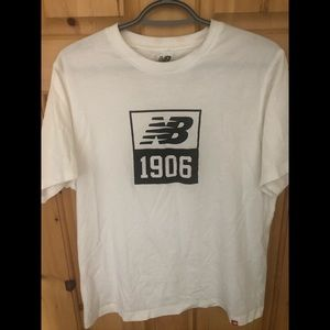 White New Balance Tee - 2 for 20$